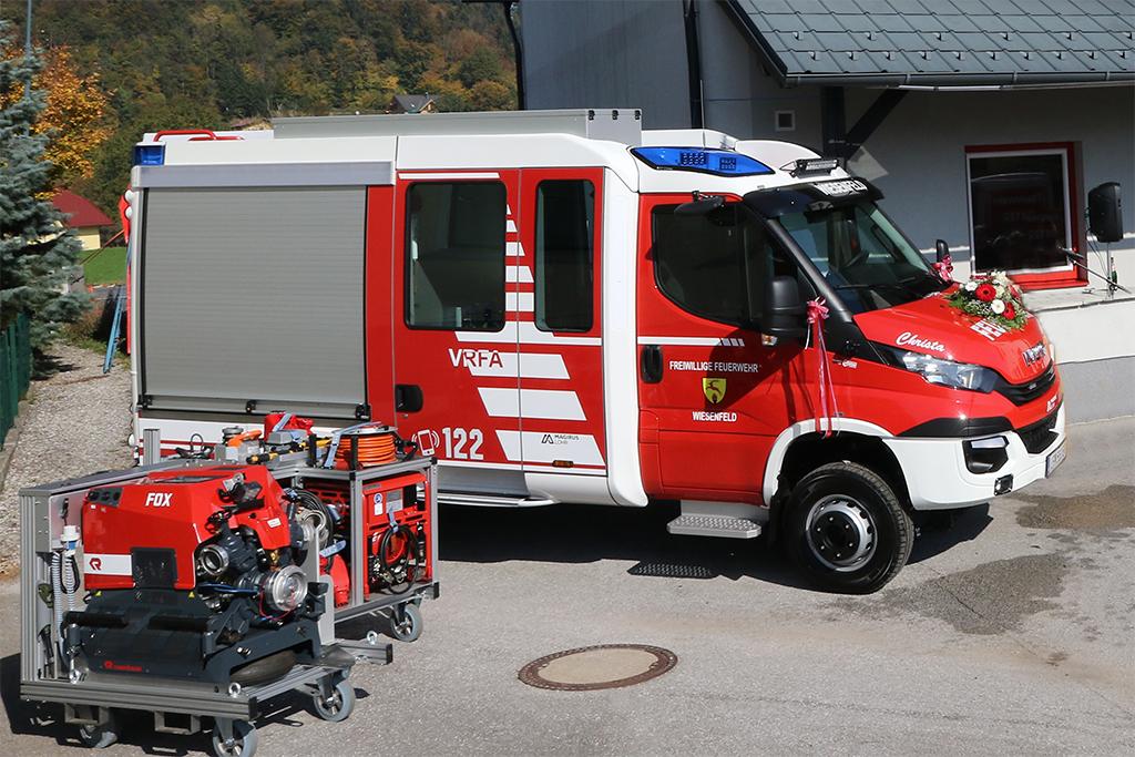 Foto VRFA Segnung