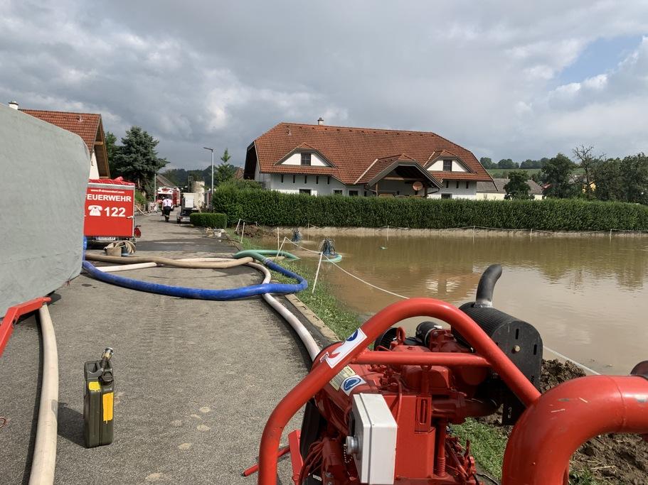 Foto - KHD Hochwassereinsatz